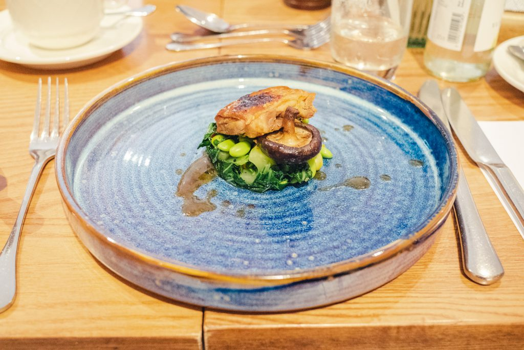 Curious kitchen restaurant review at Aztec hotel Bristol