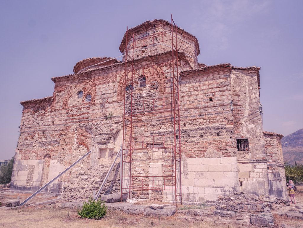 St Nicholas Monastery church Mesopotam Albania
