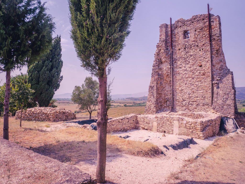 St Nicholas Monastery church in Mesopotam Albania