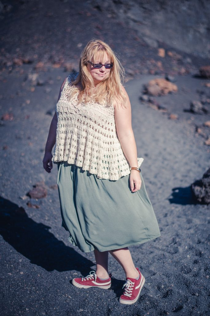 Styling a Free People top and Asos skirt