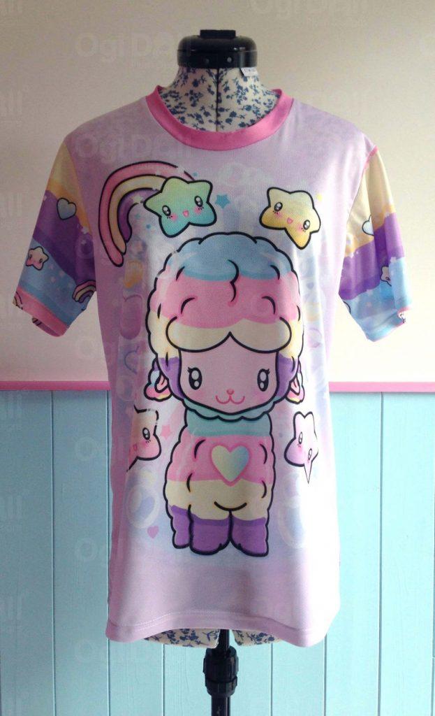 cute llama t-shirt