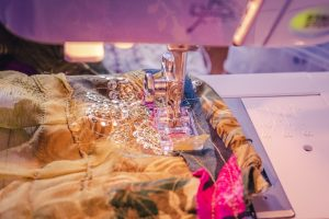 sewing a bohemian wedding dress