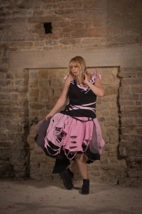 plus size pastel goth dress