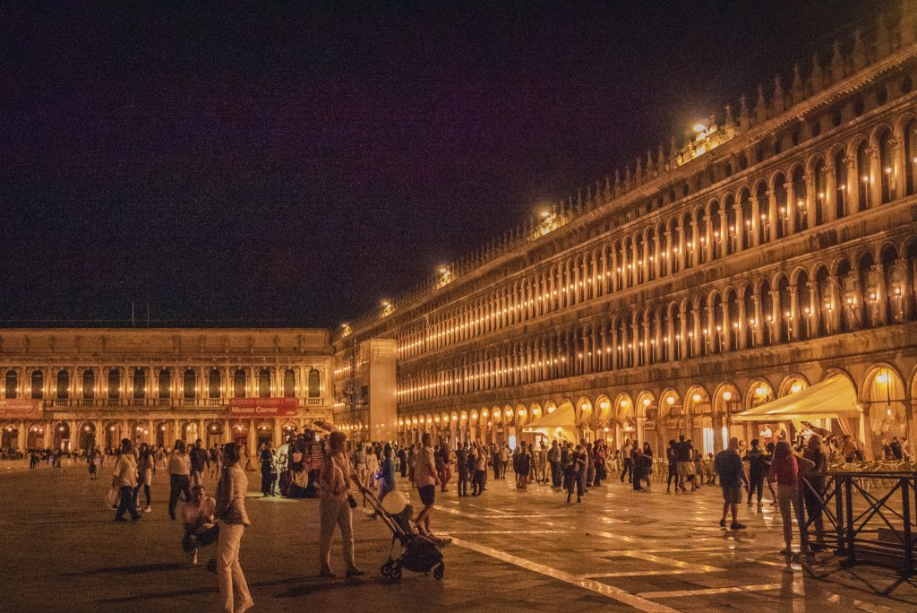 Visiting St Mark's Square, Venice