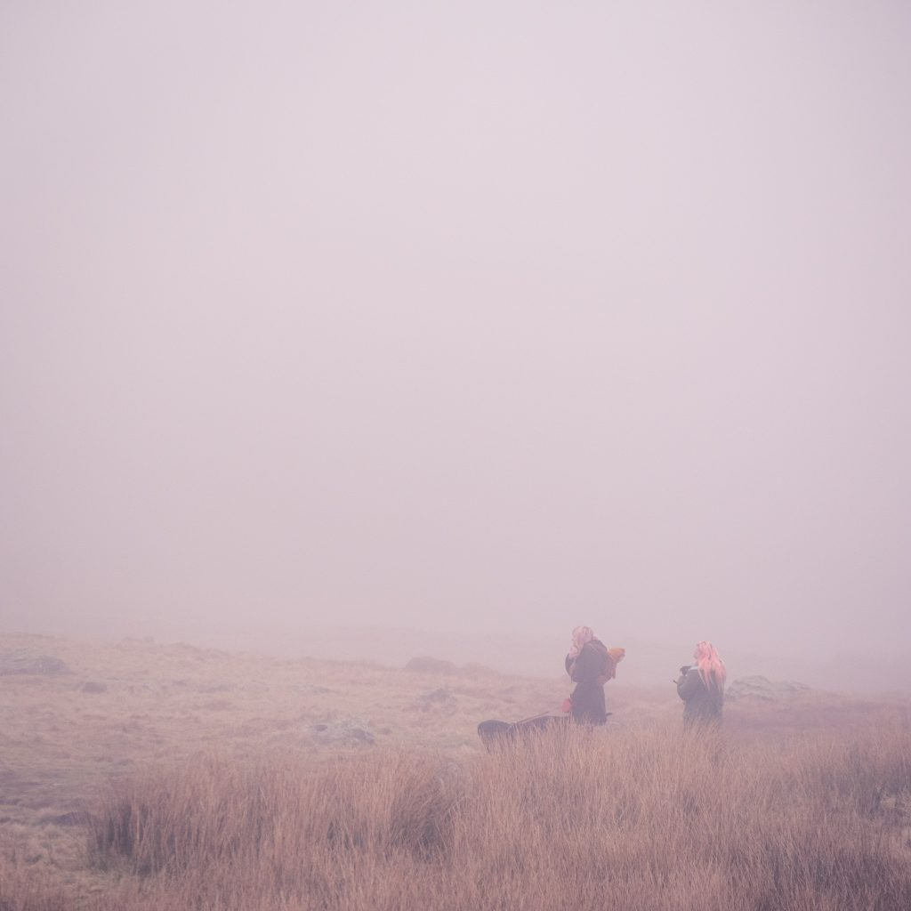 Foggy walk in the Lake District