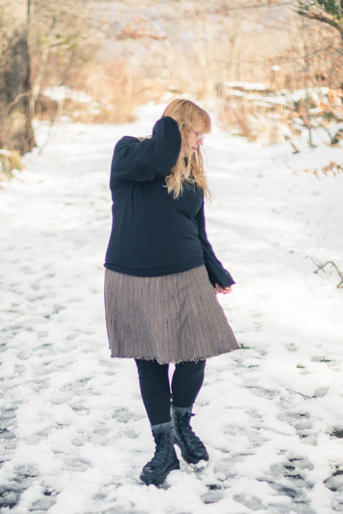Styling Doc Martens Trevonna boots in winter